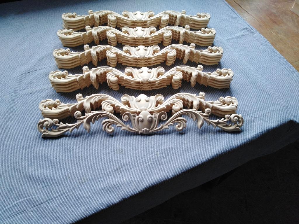 Drvani ornamenti za nameštaj
