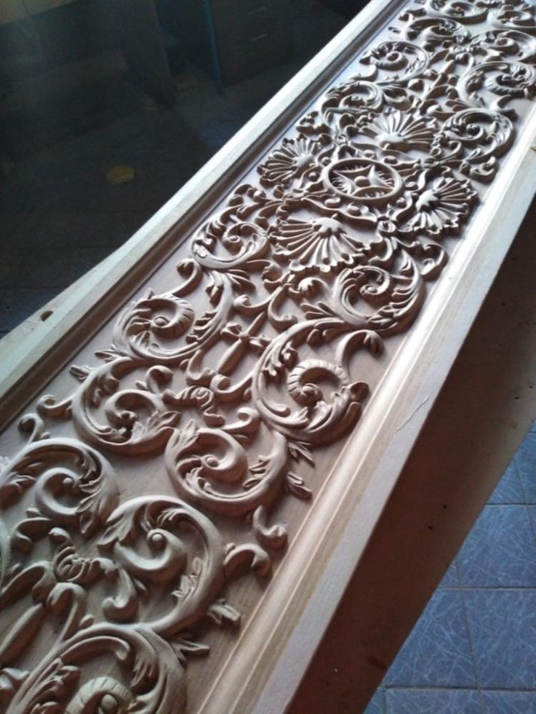 Drveni ornamenti za nameštaj-panel u duborezu