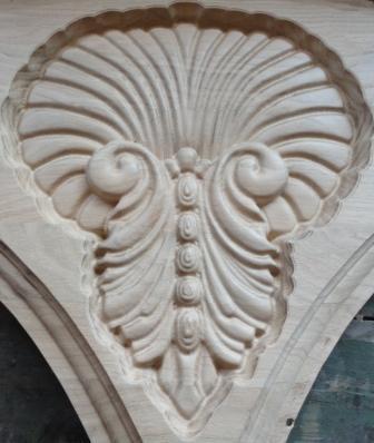 Drveni ornamenti za nameštaj