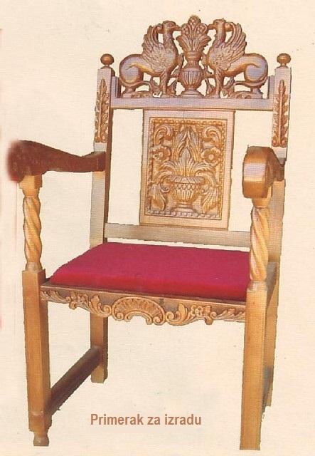 Stolica u duborezu