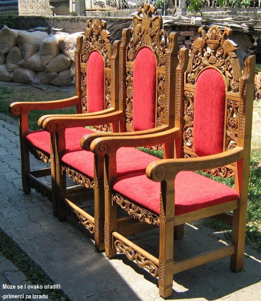 Crkvene stolice