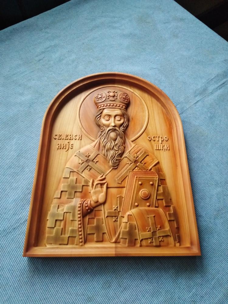 Ikona Sveti Vasilije Ostroski