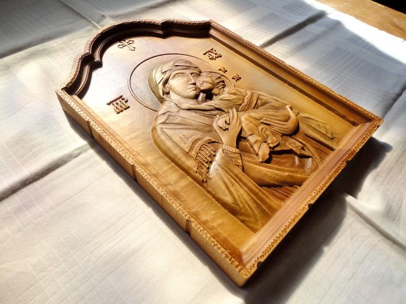 Ikone u duborezu Bogorodica